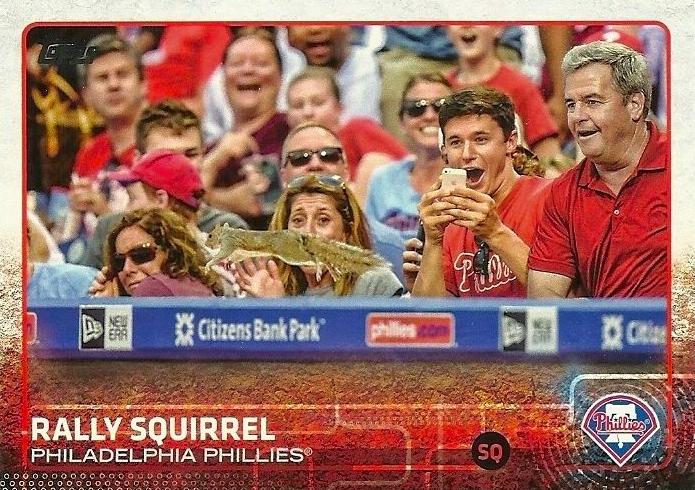 2015ToppsRallySquirrelBaseballCard