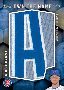 16_Topps Series 2 Baseballletters