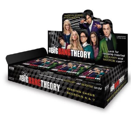 Cryptozoic Big Bang Theory 6 & 7 Trading Cards Packaging Images