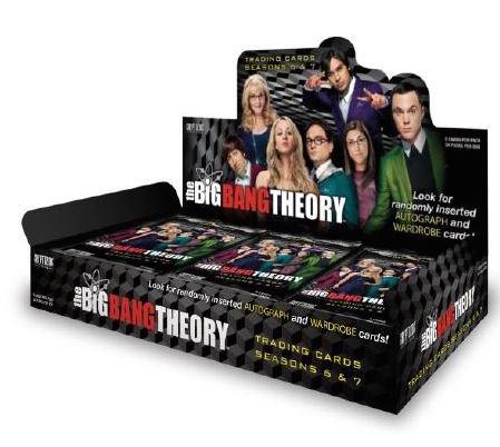 Cryptozoic Big Bang Theory 6 & 7 Trading Cards Packaging Images