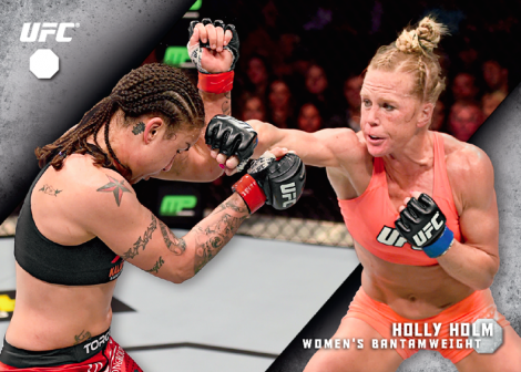 Holly-Holm-2015ToppsKnockoutWallArt