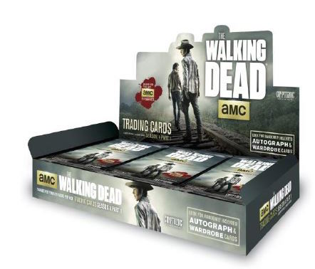 The Walking Deadon Season 4 Part 1 Trading Cards Packaging Images