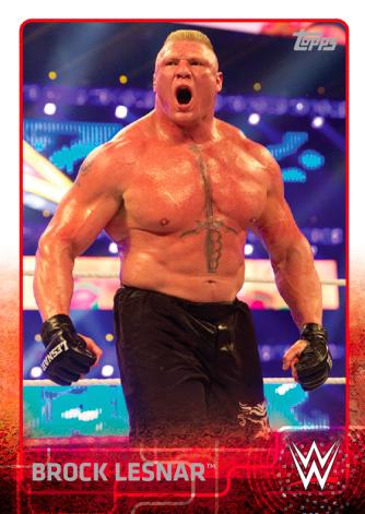 WWEWallartBrockLesnar