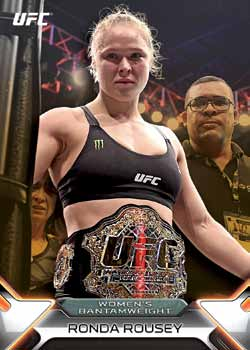16_Topps UFC Knockout-Rousey