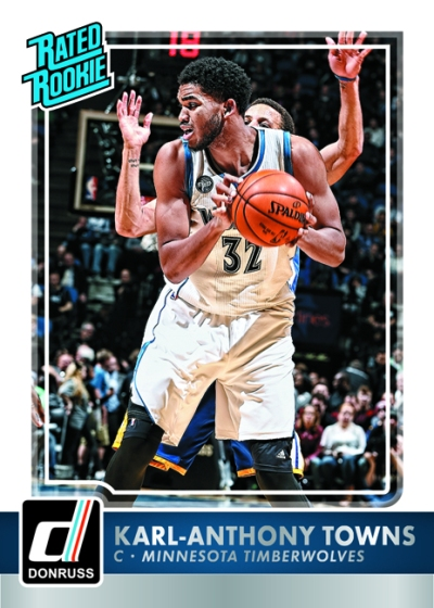 2015-16 Donruss Basketball Karl-Anthony Towns