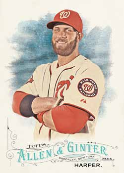 16_Topps Allen Ginter Baseball-harper-base