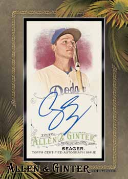 16_Topps Allen Ginter Baseball-seager