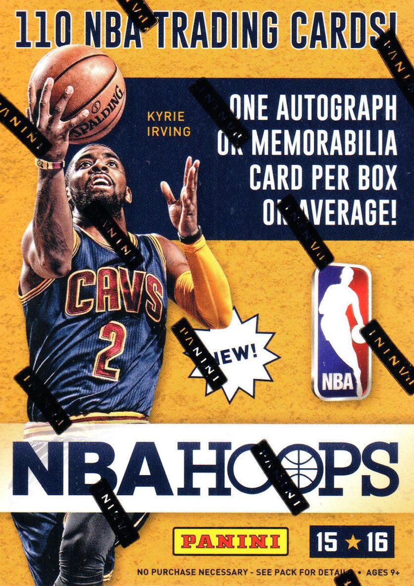 PANINI COMPLETE basket NBA 2015-16 Box 2 HITS per box!!!
