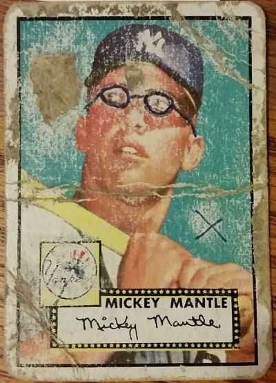 Mangled-1952-topps-mickey-Mantle