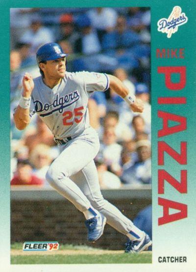Mike-Piazza-1992-Fleer-Update