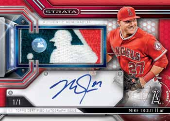 16_Topps Strata-Mike-Trout