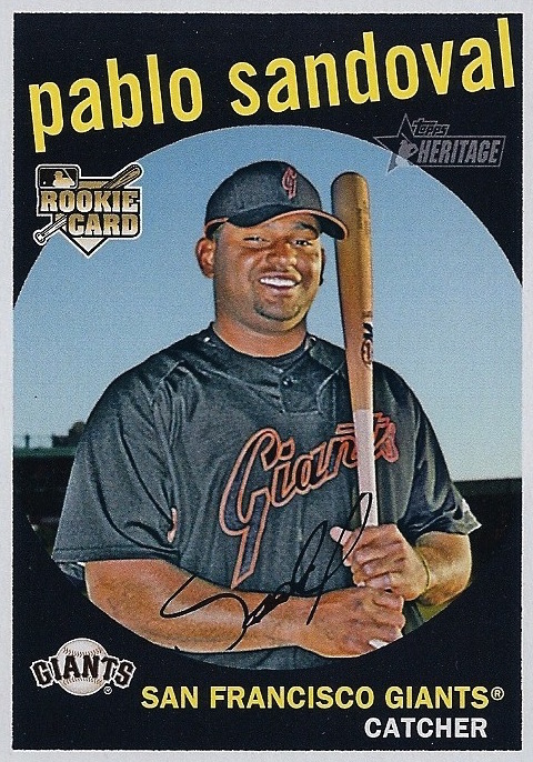 2008-Topps-Heritage-High-Sandoval-Rookie-Card