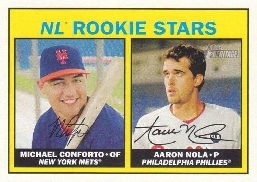 2016-Topps-Heritage-baseball-Michael-Conforto-Aaron-Nola