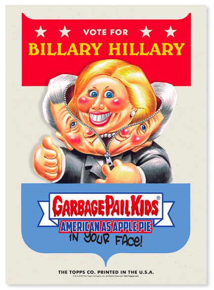 new garbage pail kids campaign poster series make even bigger