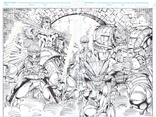 X-Force-1-Original-Art