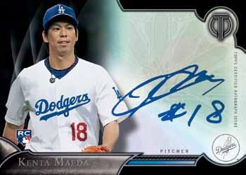 16_Topps Tribute Baseball_Kenta-Maeda