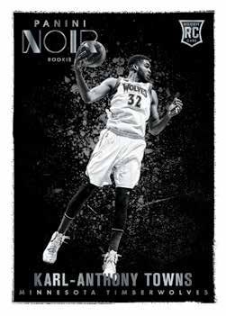 2015-16-Panini-Noir-basketball-Black-and-white-rookies-towns