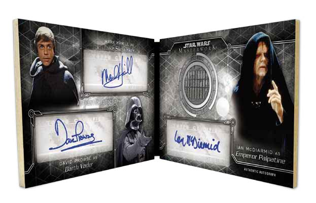 2016-Star-Wars-Masterwork-triple-auto-book
