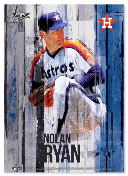 2016 Topps Fire Baseball Wall Art .44
