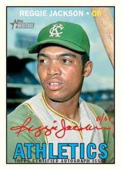 2016-Topps-Heritage-High-Number-baseball-Reggie-Jackson