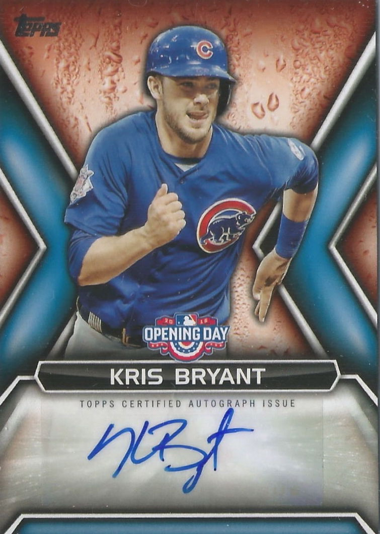Gallery 2016 Topps Opening Day Baseball Cards Blowout Buzz