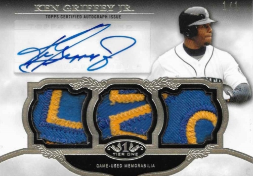 2013 Tier One Triple Patch Autograph one of one 2_zpswrw3zs96