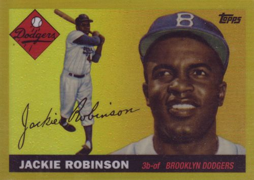 2013-topps-jackie-robinson-chrome-1955-gold