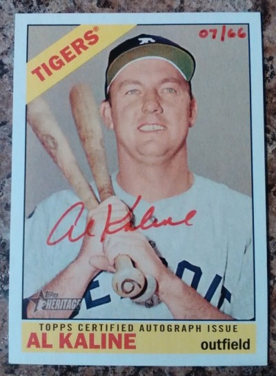 2015-Topps-Heritage-Red-Ink-Al-Kaline