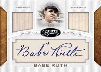 2016-Topps-Dynasty-baseball-Babe-Ruth