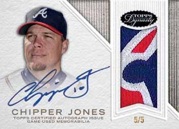 2016-Topps-Dynasty-baseball-Chipper-jones