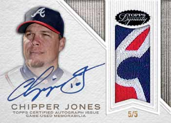 2016-Topps-Dynasty-baseball-Chipper-jones
