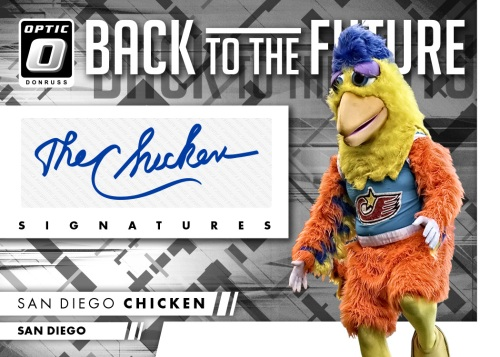 2016-donruss-optic-Back-to-the-Future-auto-San-Diego-Chicken