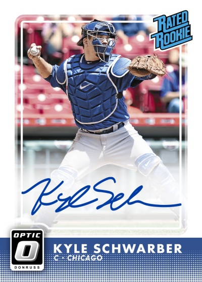2016-donruss-optic-Kyle-Schwarber-Rated-Rookie-Auto