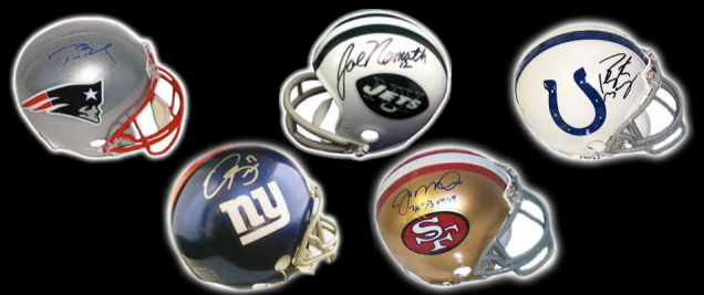 2016-Leaf-Autographed-Mini-Helmet-football