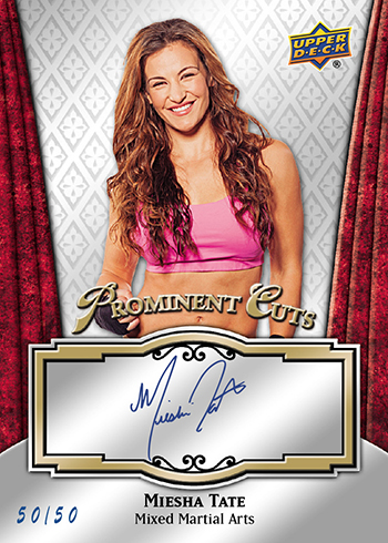 2016-Upper-Deck-National-Sports-Collectors-Convention-NSCC-Prominent-Cuts-Miesha-Tate-Autograph
