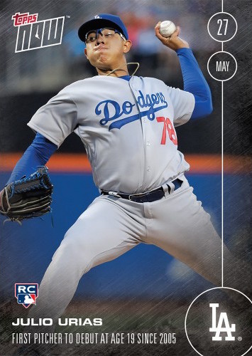 Julio-Urias-2016-Topps-Now