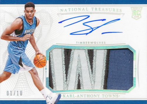 Karl-Anthony-Towns-Rookie-Patch-auto