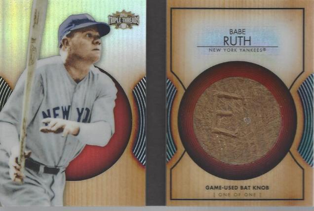 Ruth bat knob