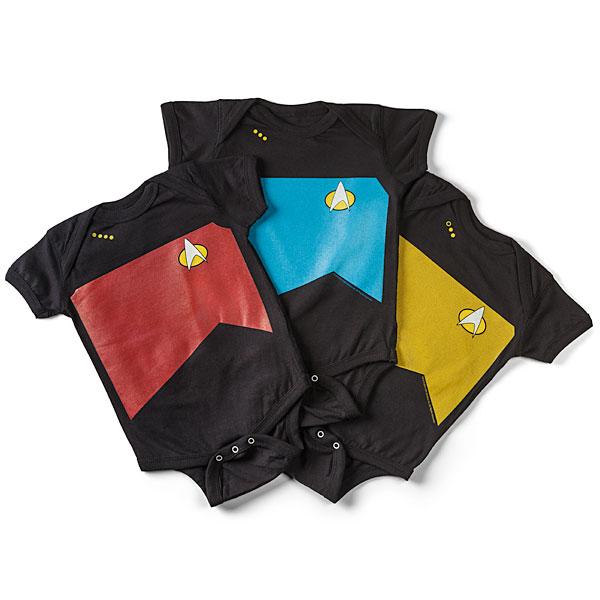 Thinkgeek S New Star Trek Tng Trekini Swimwear Far From