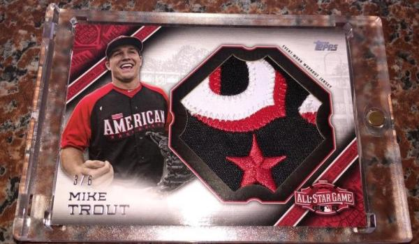 Trout Topps AS