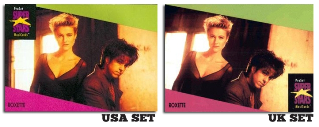 1991-Pro-Set-SuperStars-MusiCards-roxette-comparison