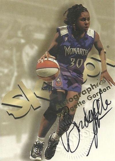 1999-WNBA-Hoops-Bridgette-Gordon-Autographics