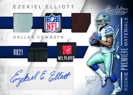 2016-Panini-Absolute-Football-auto-Elliott