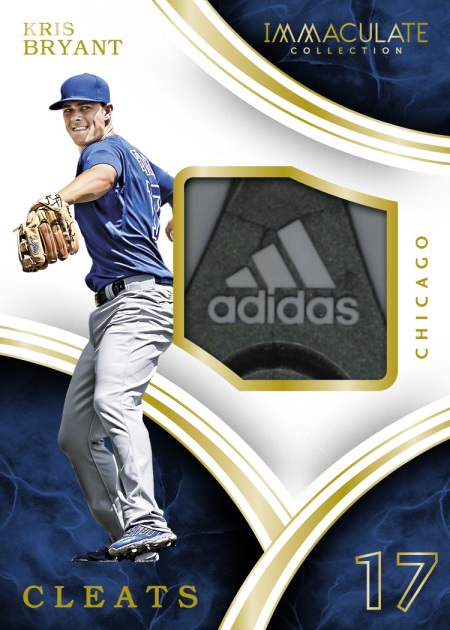 2016-panini-Immaculate-collection-baseball-cleats-kris-bryant