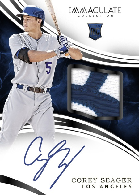 2016-panini-Immaculate-collection-baseball-Corey-Seager