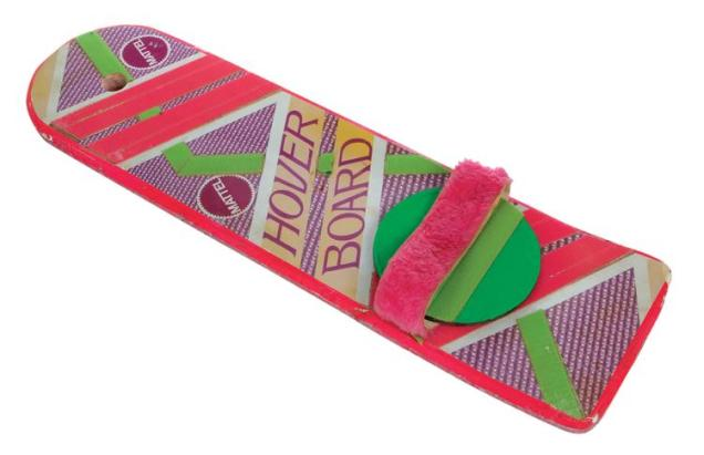 "Lot 1291: Michael J. Fox ""Marty McFly"" hero Mattel Hoverboard from Back to the Future Part II. Estimate: $40,000 - $60,000"