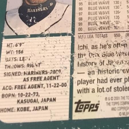 Ichiro-Suzuki-2001-Topps-RC-detail