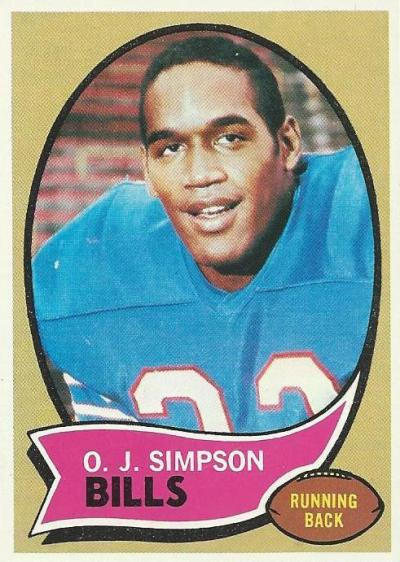 O.J.Simpson-1970-Topps-Rookie-Card