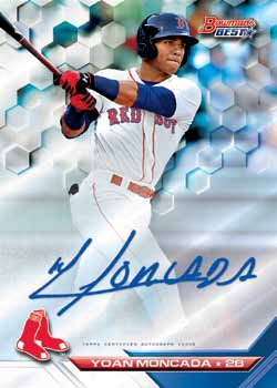 First Buzz 2016 Bowmans Best Baseball Cards Blowoutbuzzcom
