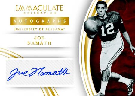 2016-Panini-Immaculate-Collegiate-football-namath